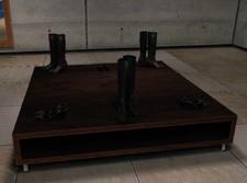 Weber's Garments Shoe Display