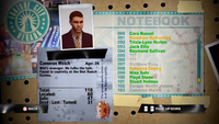 Dead Rising cameron notebook