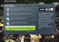 Dead rising xbox live screen shots
