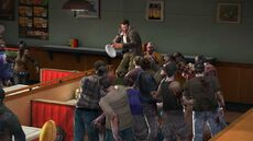 Dead rising plates jills lots of zombies
