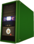 Dead rising Computer Case green