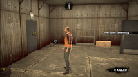 Dead rising case 0 safe house items save shed