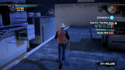 Dead rising 2 case 0 mommas diner roof to bobs (6)