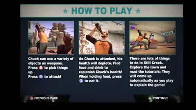 Dead rising 2 case 0 how to play info screen (2)