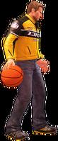 Dead rising basketball holding