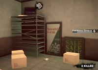 Dead rising case 0 safe house items storeroom bat