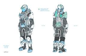 DS3 Legionary Suit Concept Art 2