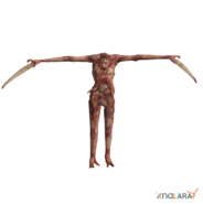Naked Slasher render
