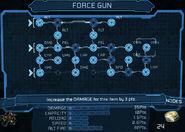 Force gun bench 25