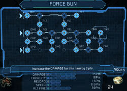 Force gun bench 25