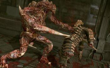 The Hunter killing Isaac