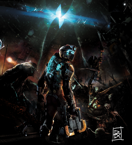 File:Dead space 2 poster by goku252525-d36uch6.png
