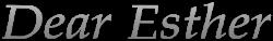 Dear Esther Wiki