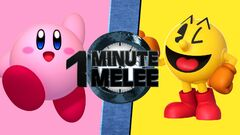 One Minute Melee Kirby vs. Pac-Man