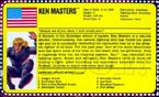 Street Fighter - Ken Master's Filecard Information