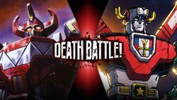 Megazord VS Voltron (Official)