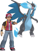 Red & Mega Charizard X