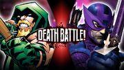 Green Arrow VS Hawkeye Official