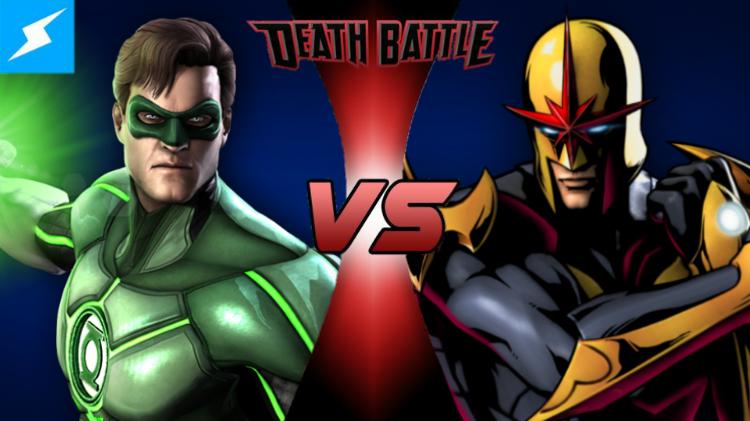 Image - Green Lantern VS Nova (UTF).png | DEATH BATTLE ...