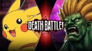 Pikachu VS Blanka Official
