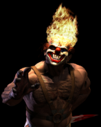 Twisted Metal - Sweet Tooth himself as he appears in Twisted Metal Black