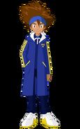 Tai in his winter clothes