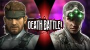 Solid Snake VS Sam Fisher Official