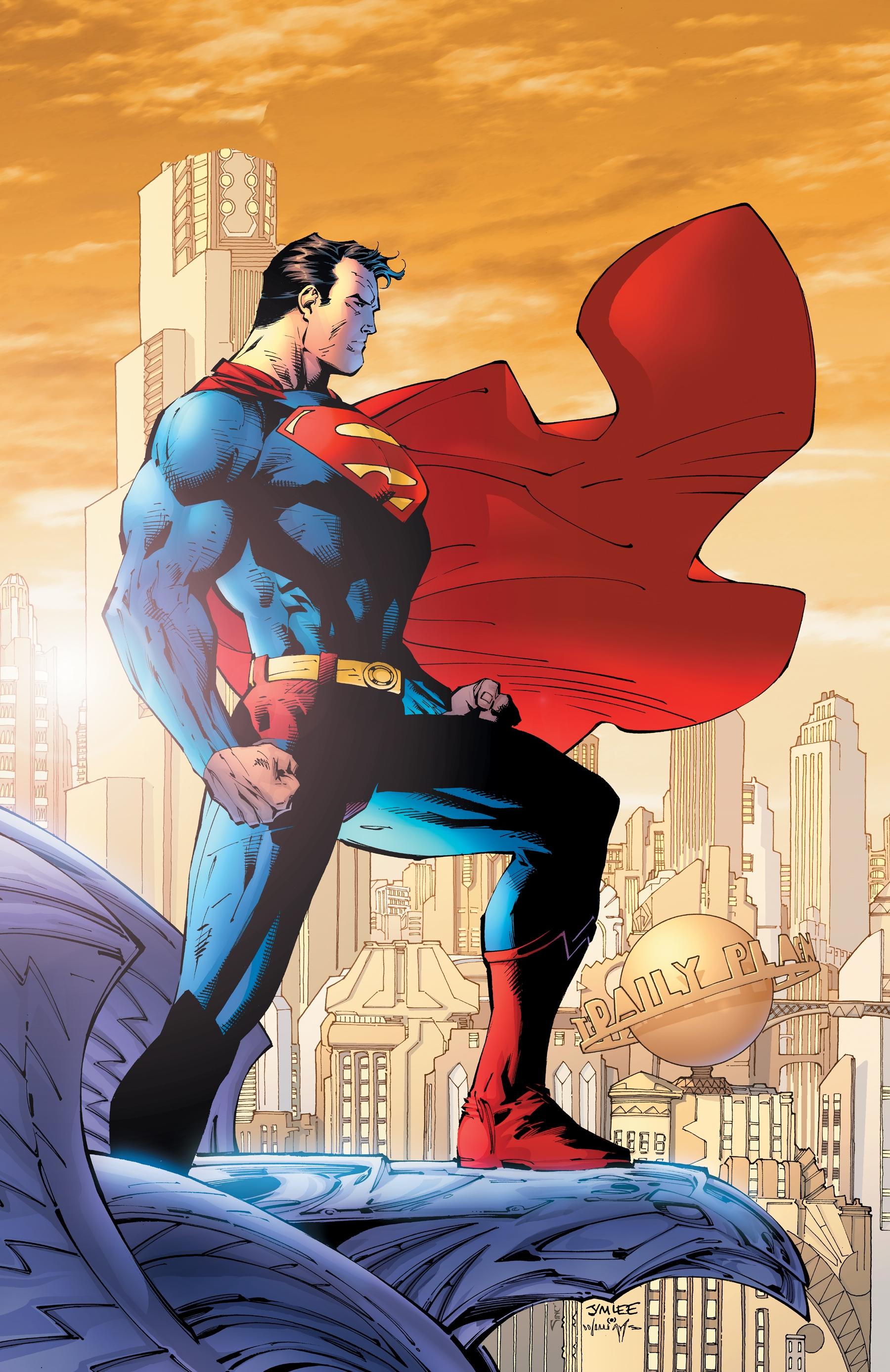 Image Superman by jim lee jpgw389jpeg DEATH BATTLE