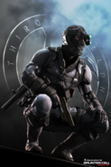 Splinter Cell - Sam Fisher as seen in Splinter Cell Conviction