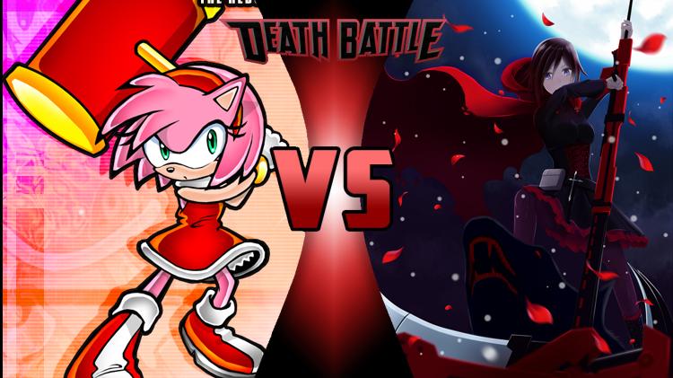Amy Rose Vs Ruby Rose Death Battle Fanon Wiki Fandom