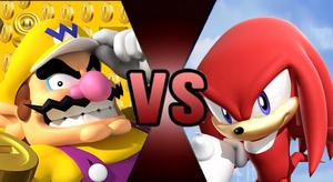 Wario VS Knuckles