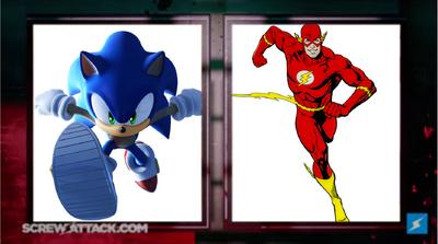 Sonic vs Flash set