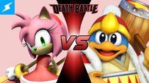 Amy Rose VS King Dedede