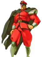 Street Fighter - M Bison as he appears in Marvel VS Capcom 2