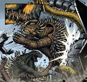 Godzilla and Anguirus vs MKG