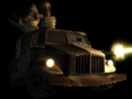 Twisted Metal - The Sweet Tooth Vehicle as seen in Twisted Metal Black