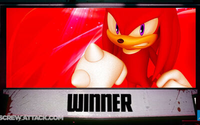 Knuckles wins
