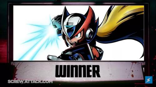 Zero Mega Man X Winner