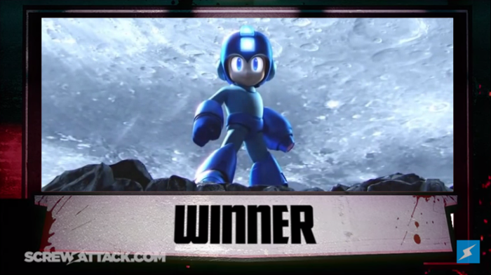 Mega Man Winner