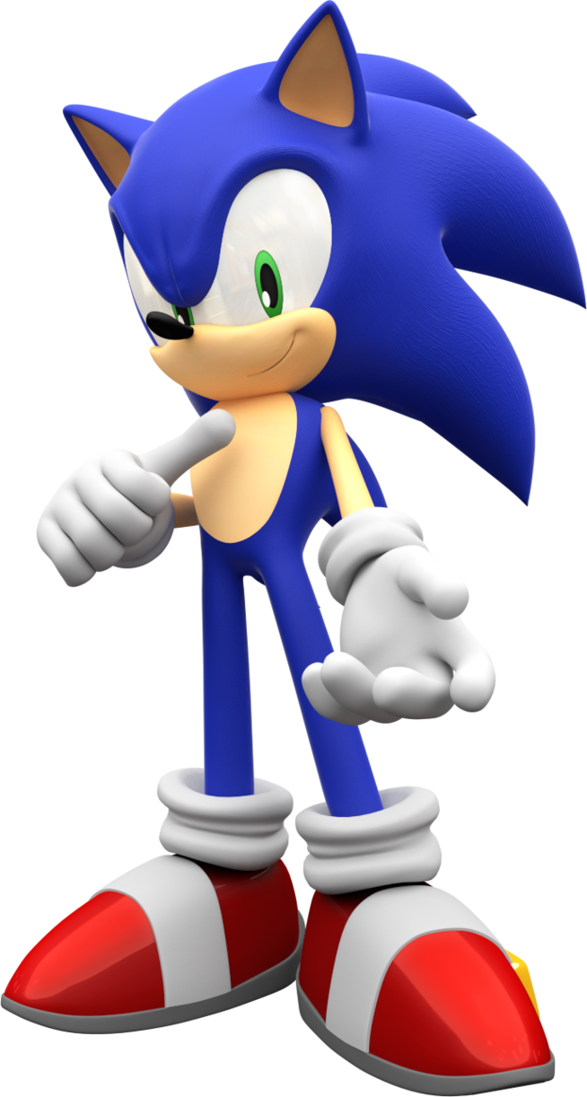 Image - Sonic the hedgehog render by mintenndo-d6xs5kr.png ...