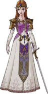 The Legend of Zelda - Artwork of Princess Zelda for Twilight Princess