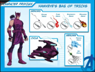 Marvel Comics - Hawkeye's Bag of Tricks