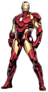 Marvel Comics - Iron Man in Bleeding Edge Armor