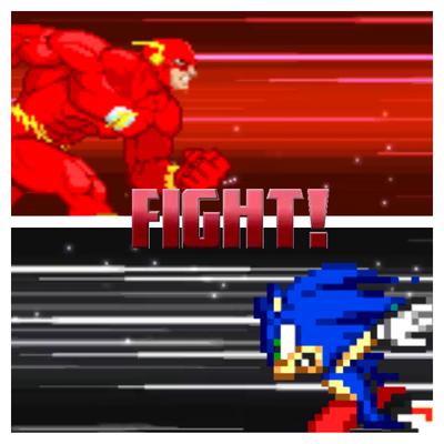 Sonic flash running