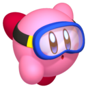 Kirby - Kirby while he's swimming underwater