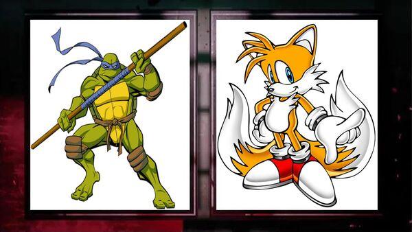 Dinatello vs tails
