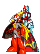 Protoman and zero by metalteam-d6mcldo