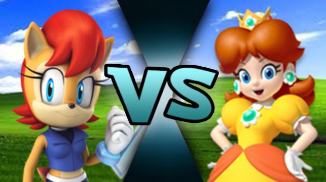 Sally Acorn vs Daisy