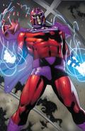 Marvel Comics - Magneto focusing on his powers