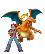 Red & Charizard's 3D Model